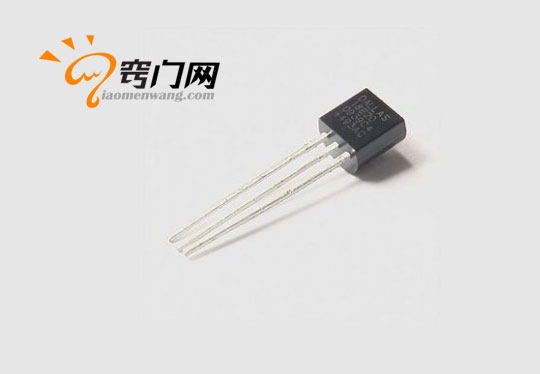 DS18B20常用的温度传感器