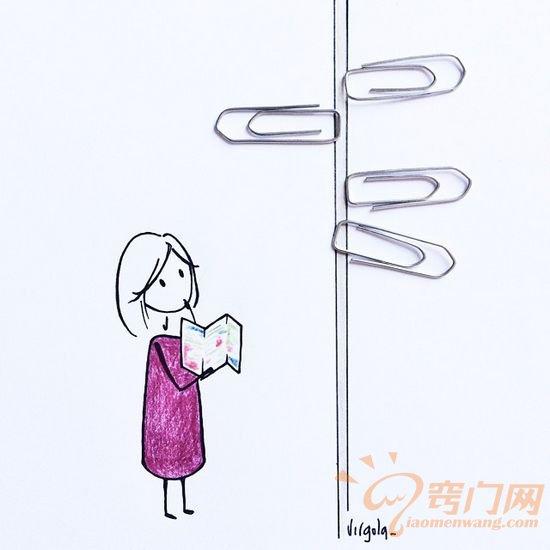 治愈系插画:给生活加几笔情趣 (6)