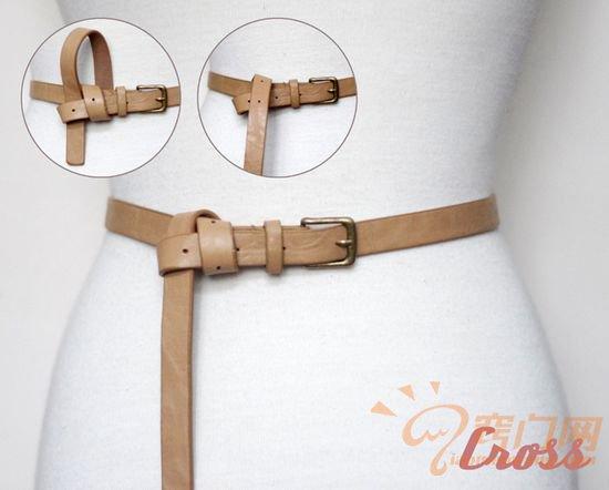 皮制腰带的14种时尚系法 (3)