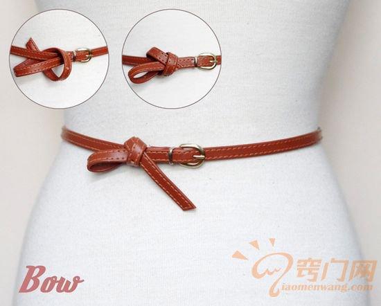 皮制腰带的14种时尚系法 (2)