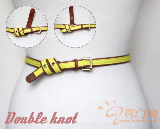 皮制腰带的14种时尚系法 (7)
