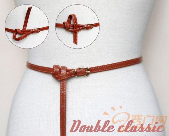 皮制腰带的14种时尚系法 (5)