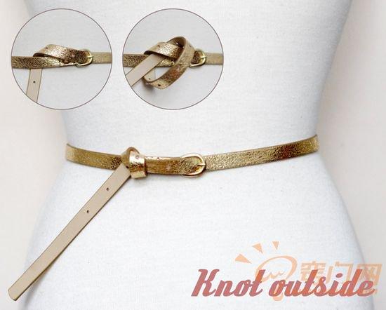 皮制腰带的14种时尚系法 (10)