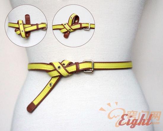 皮制腰带的14种时尚系法 (8)
